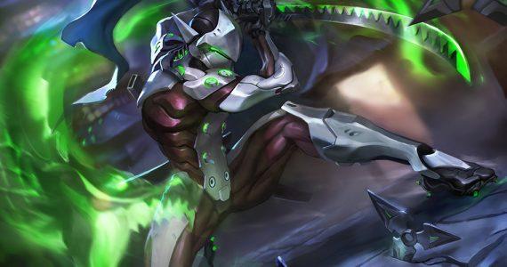 Genji podría unirse al reparto de Heroes of the Storm