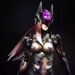Esta es la versión del Joker de Tetsuya Nomura, se ve genial