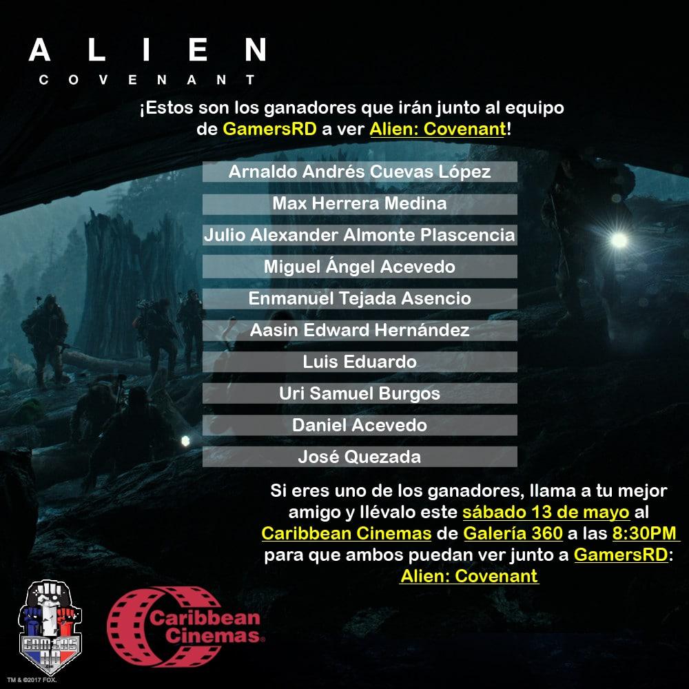 ¡No te pierdas Alien: Covenant!