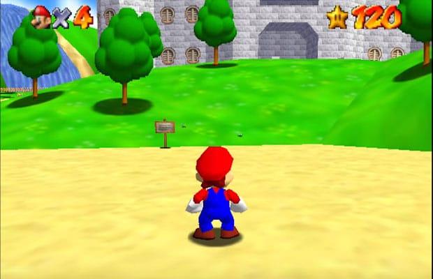 Super Mario 64 desde Nintendo 64