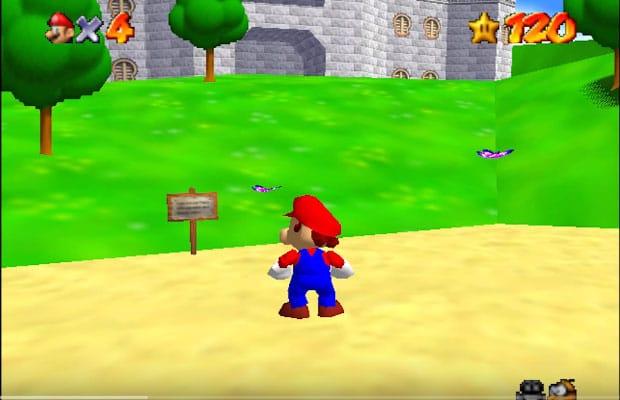 Super Mario 64 desde Project 64