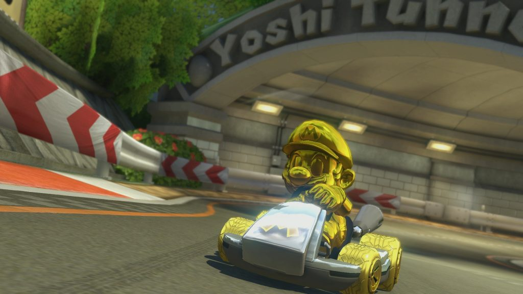 Mario-Kart-8-Deluxe-Mario Gold-GamersRD