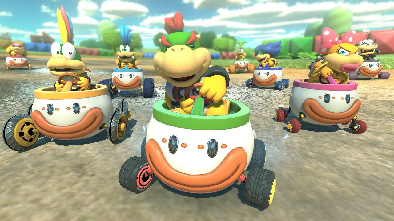 """Nueva opción para Mario Kart 8 Deluxe: """"Auto-Acelerar"""""""