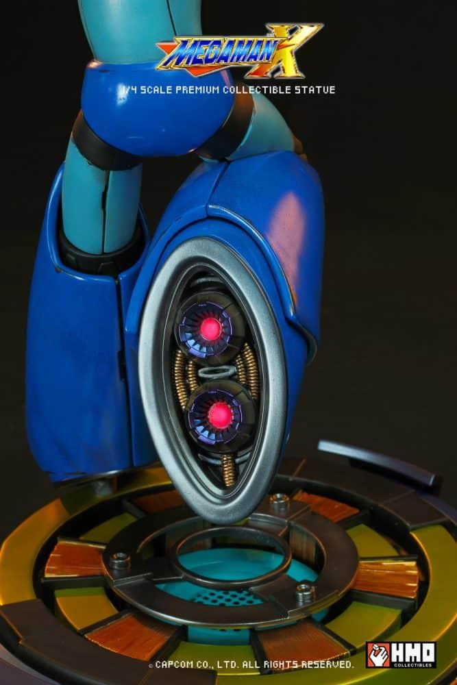 estatua edición limitada de Mega Man X-1-GamersRD
