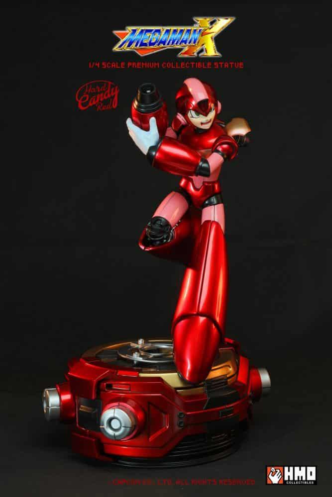 estatua edición limitada de Mega Man X-3-GamersRD