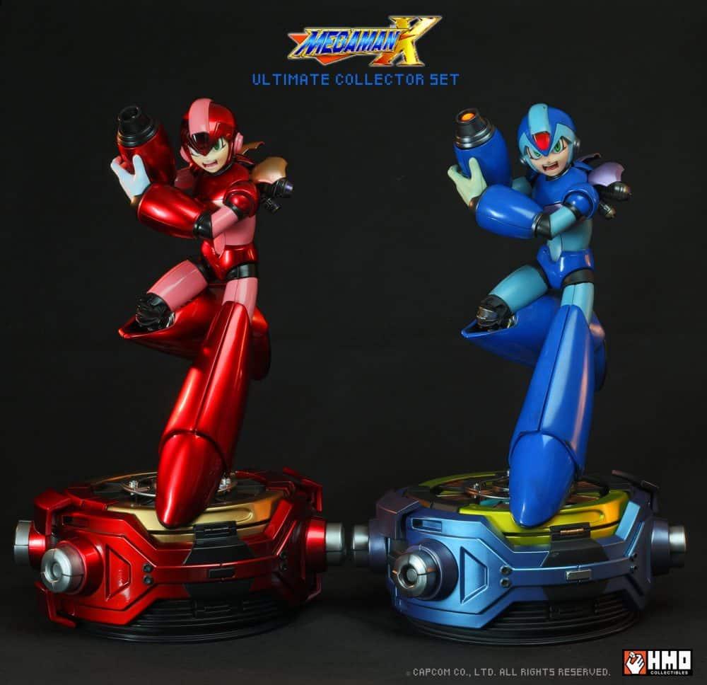 estatua edición limitada de Mega Man X-4-GamersRD
