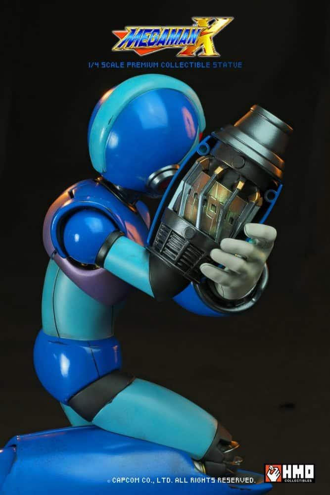 estatua edición limitada de Mega Man X-GamersRD