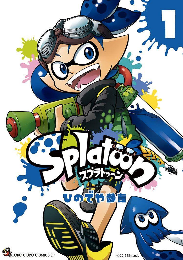 El manga de Splatoon tendrá traducción al inglés