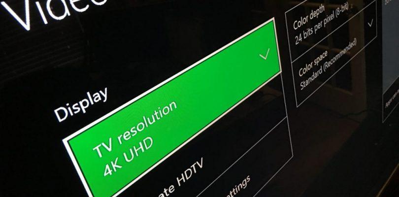 Xbox One X descargará siempre los archivos en 4k