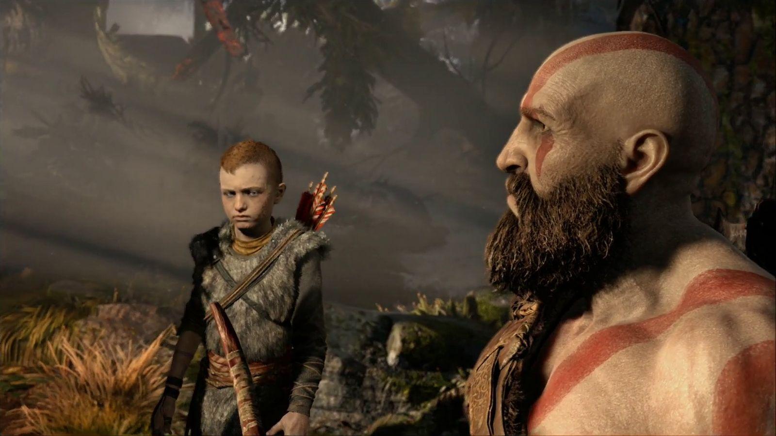 God of War, el hijo Atreus no es una carga y los pelos de barba de Kratos se representan en tiempo real GamersRD