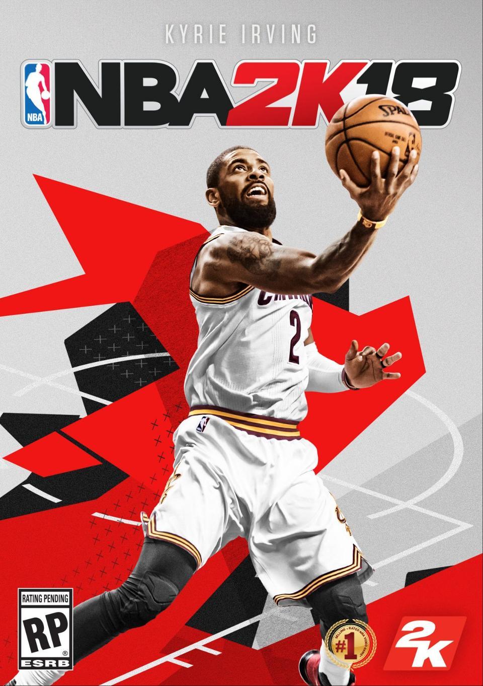 Kyrie Irving -NBA 2K18 -GamersRD