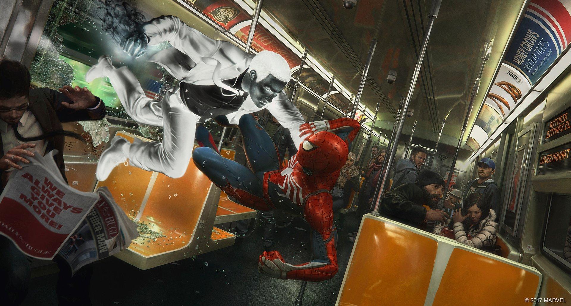 Spider-Man de PS4 Mr. Negative-GamersRD