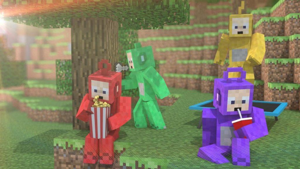 Teletubbies Mod para Minecraft-1-gAMERSrD