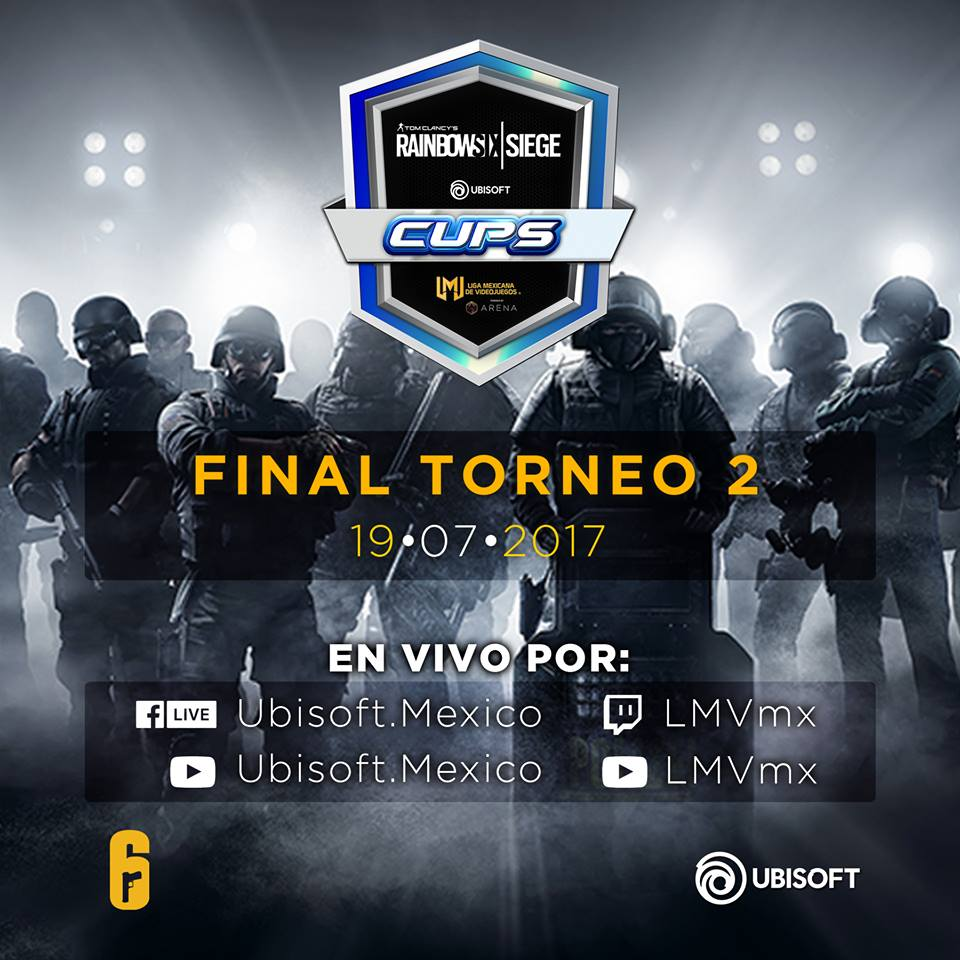 Tom Clancy's Rainbow Six Siege Cups -Torneo-Ubisoft-GamersRD