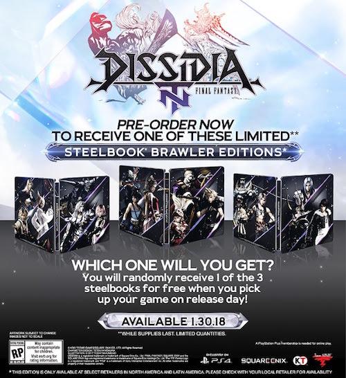 Dissidia Final Fantasy NT-GamersRD