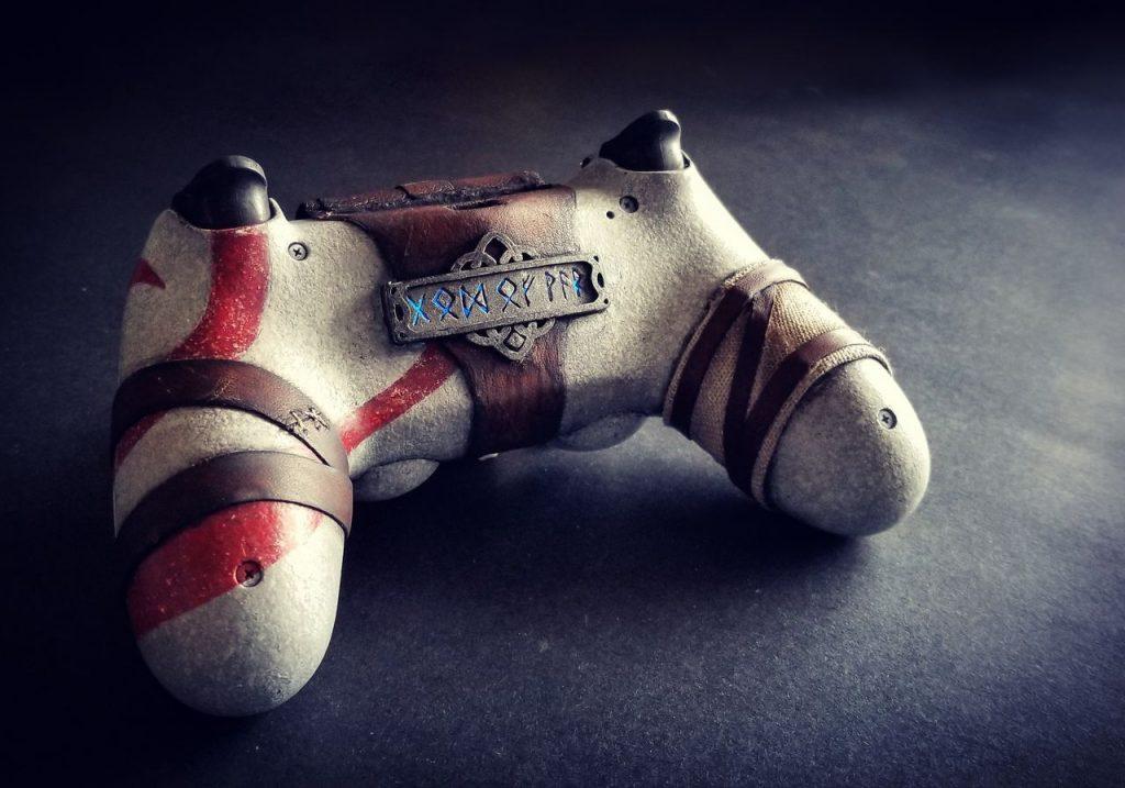 DualShock 4 inspirado en God of War-1-GamersRD