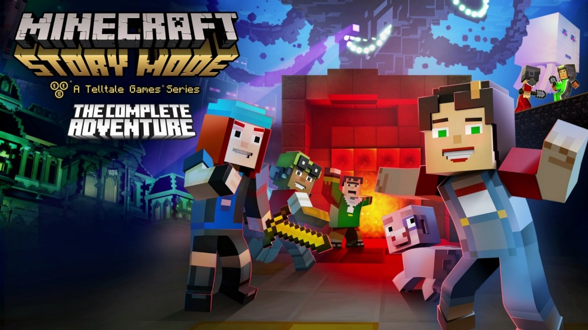 minecraft-story-mode-complete-adventure-Nintendo Switch-Review-Analisis-GamersRD