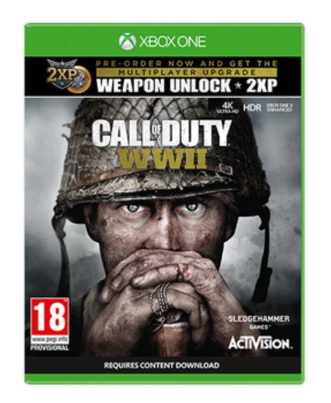 Call-of-Duty-WWII-Xbox-One-X-box-art-4k HDR-GamersRD