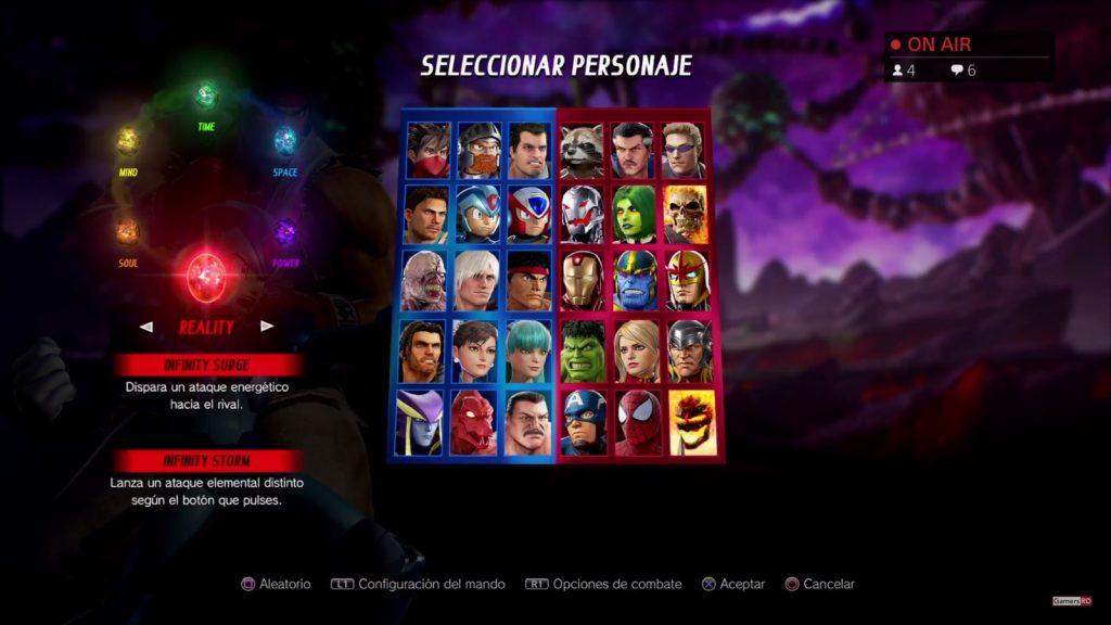 Marvel vs. Capcom Infinite - Análisis -3-GamersRD