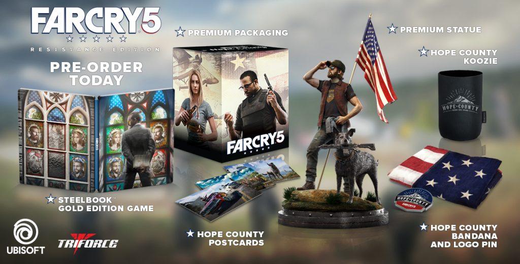 Far Cry 5 Resistance Edition-gAMERsrd