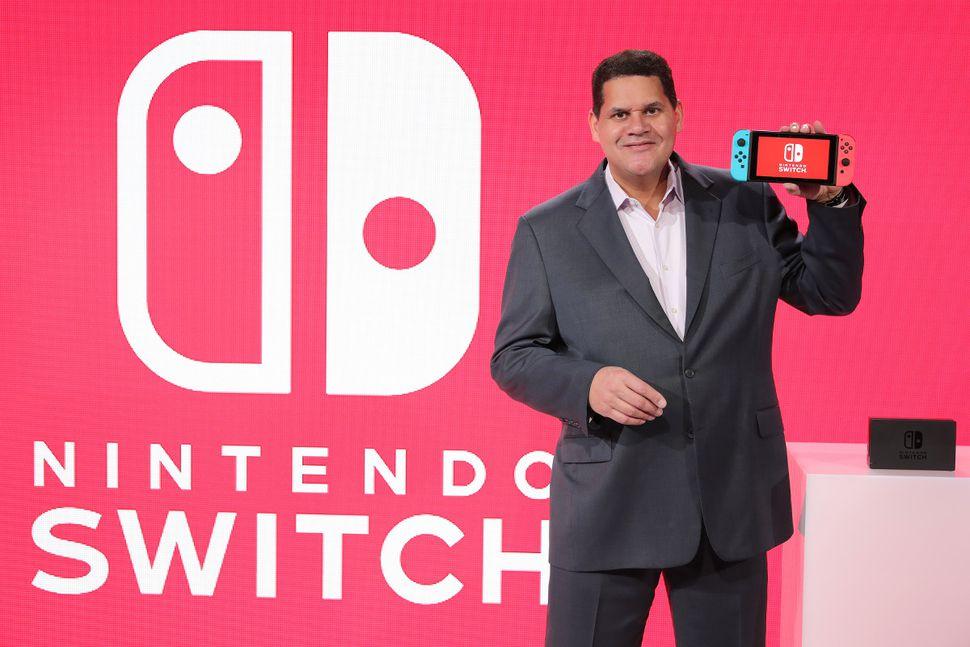 Reggie Fils-Aime -Nintendo-Switch-GamersRD