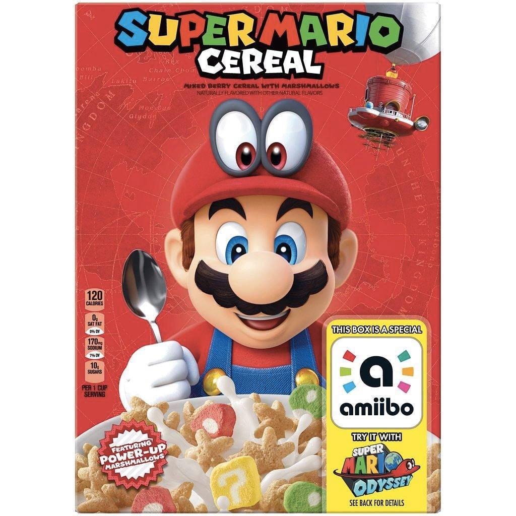 cereal de Super Mario -Nintendo-GamersRD
