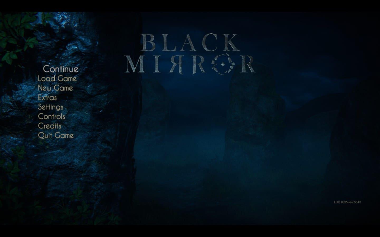 El Nordic Ip44 Mirror With Pull Switch: Black Mirror