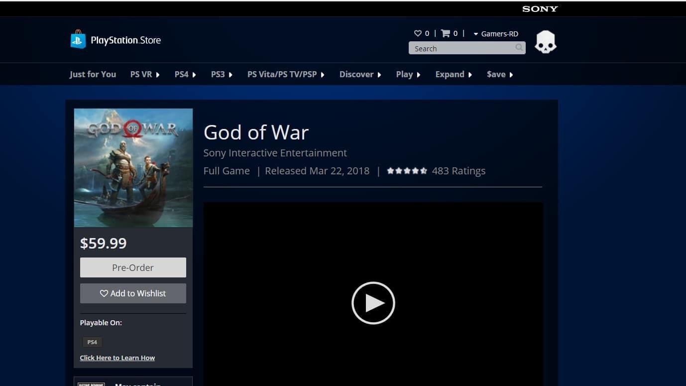 God of War- lanzamiento-GamerSRD
