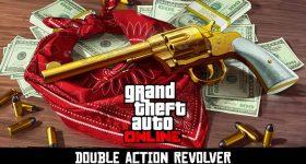 Revólver de Doble Acción Disponible en GTA Online y Red Dead Redemption 2
