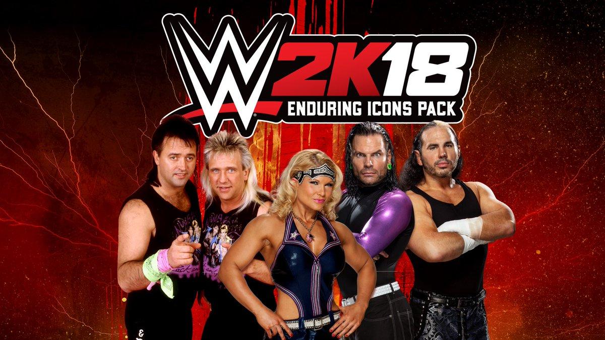 Enduring Icons Pack de WWE 2K18 -GamersRd