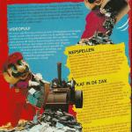 Foto de 1994 muestra a Nintendo destruyendo juegos piratas con una aplanadora