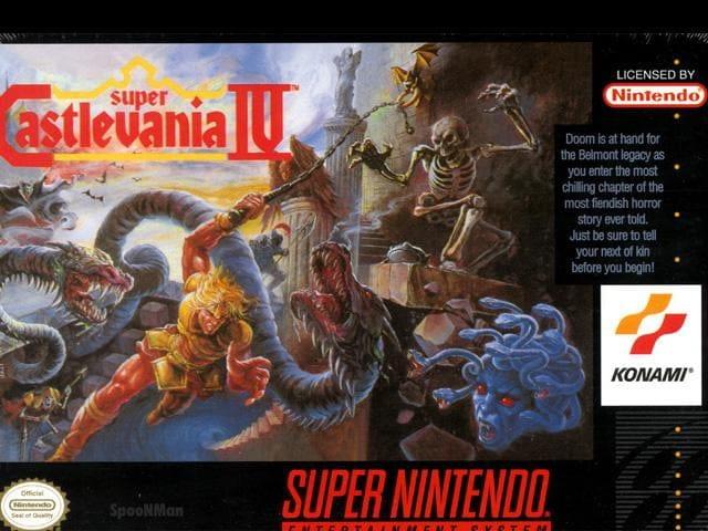 Super Castlevania IV-Super Nintendo-GamersRD