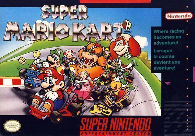 Super Mario Kart- Super nintendo-GamersRD