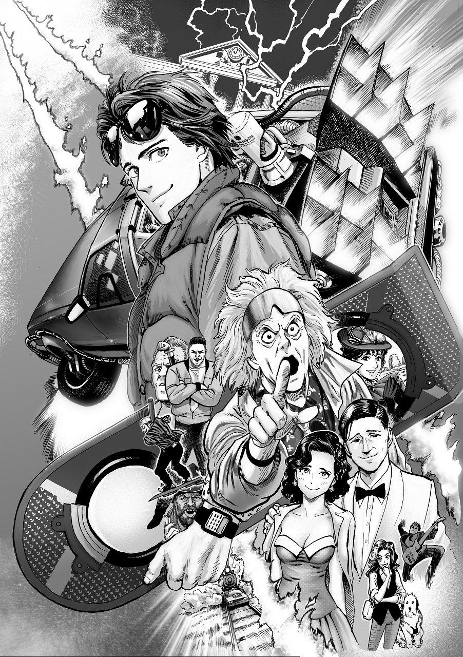 Volver al Futuro se convierte en manga