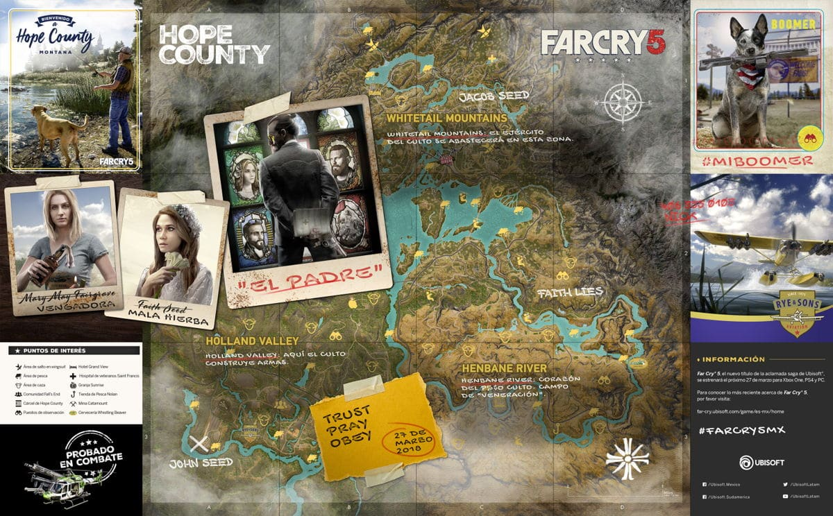Far Cry 5 Conoce el demencial Hope County, Montana -1-GamersRD