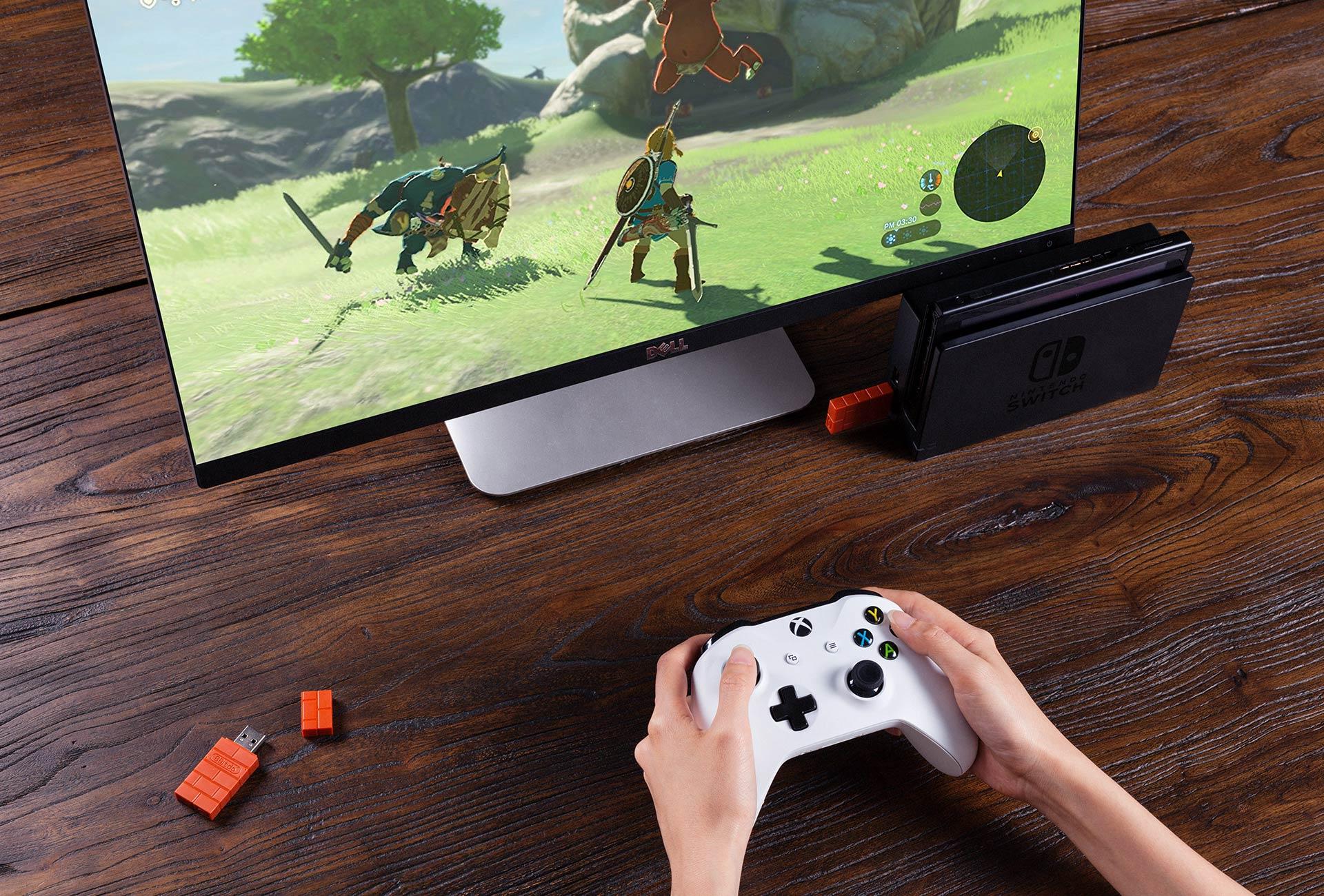 USB 8Bitdo para Nintendo Switch ahora es compatible con los controles de Xbox One S-GamersRD