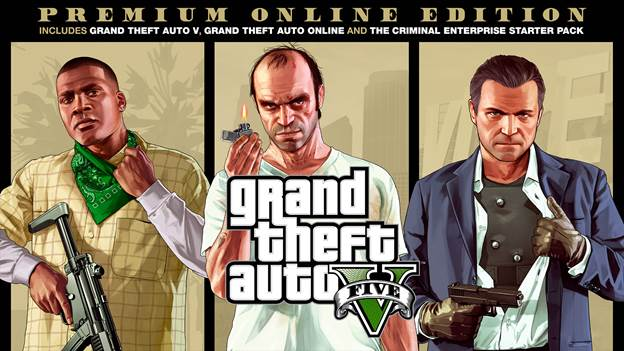 Grand Theft Auto V Edición Online Premium -GamersRD