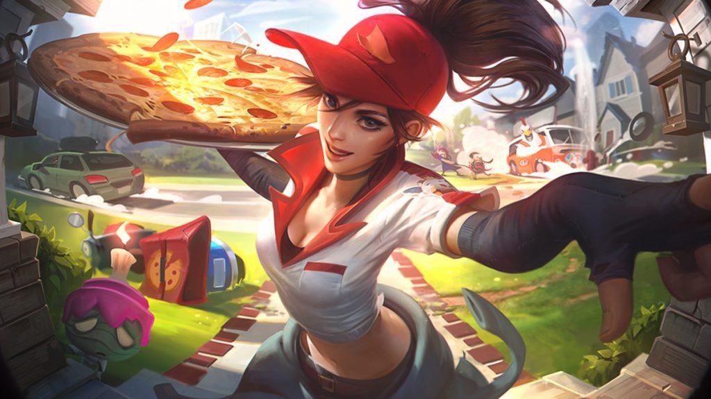 Pizza Sivir-League of Legends-GamersRD