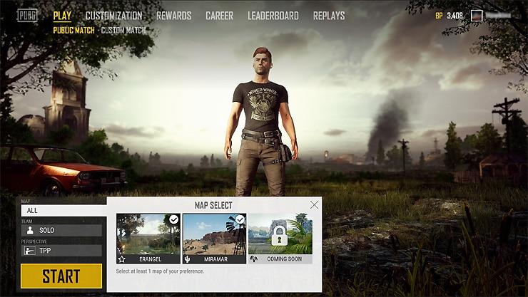 PlayerUnknown's Battlegrounds te permitirán elegir tu mapa pronto-GamersRD