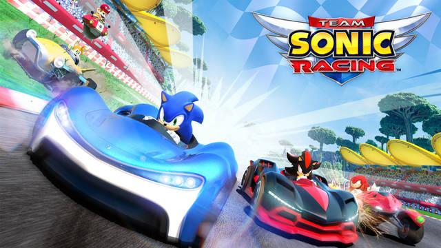 Sonic, Team Sonic Racing, Sega, PS4, Xbox One, Nintendo Switch,