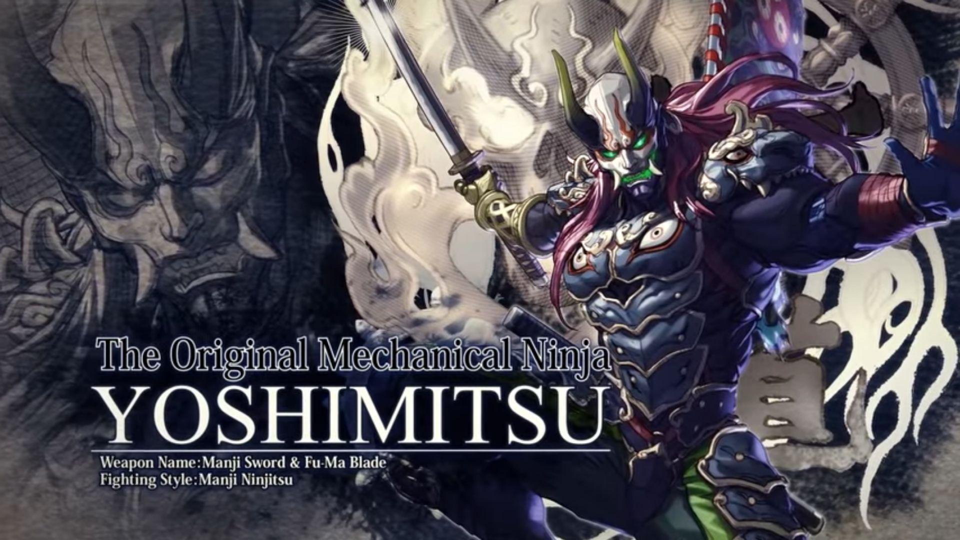 Se filtra otro personaje de SoulCalibur VI, Yoshimitsu
