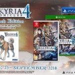 Anuncian fecha de lanzamiento en occidente de Valkyria Chronicles 4