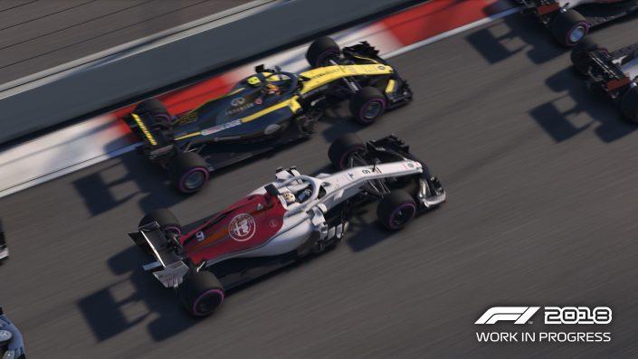 Hockenheimring en F1 2018 con Nico Hülkenberg-GamersRD