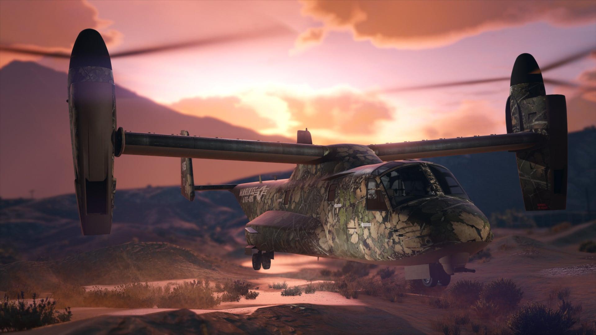 Hunting Camo Livery-GTA-Online-GamersRD