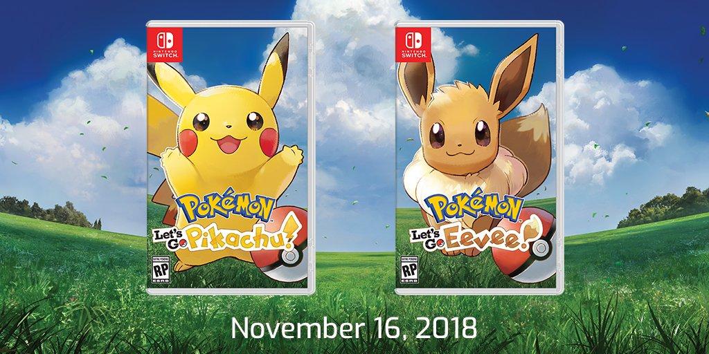 Pokémon Let's Go, Pikachu! y Pokémon Let's Go, Eevee! -GamersRD