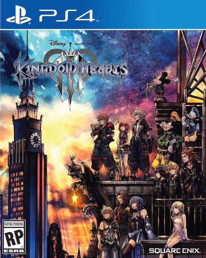 Revelan el arte de portada de Kingdom Hearts III