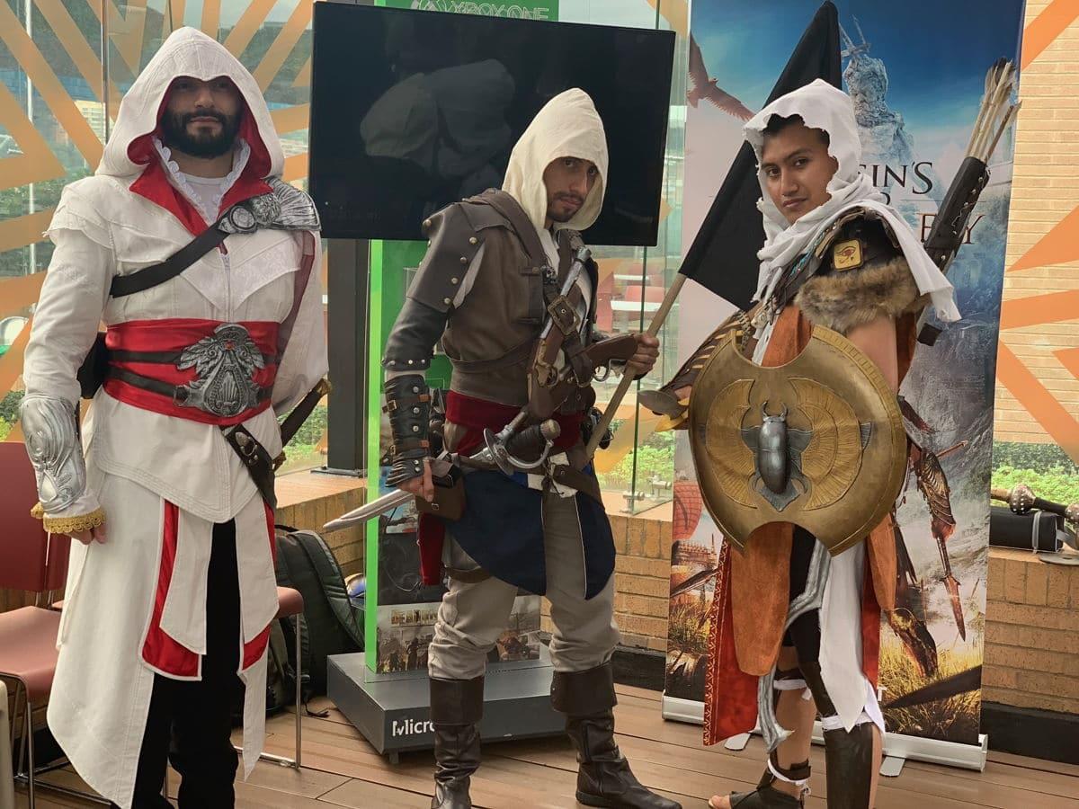 Assassin's Creed Odyssey -salón del Ocio y de la Fantasía 2018 en Colombia -1-GamersRd
