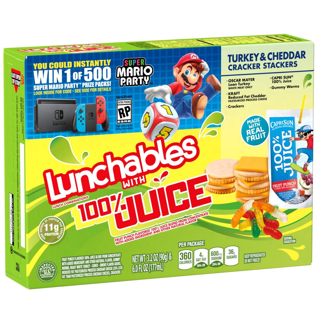 Super Mario Party with Lunchables-GamersRD