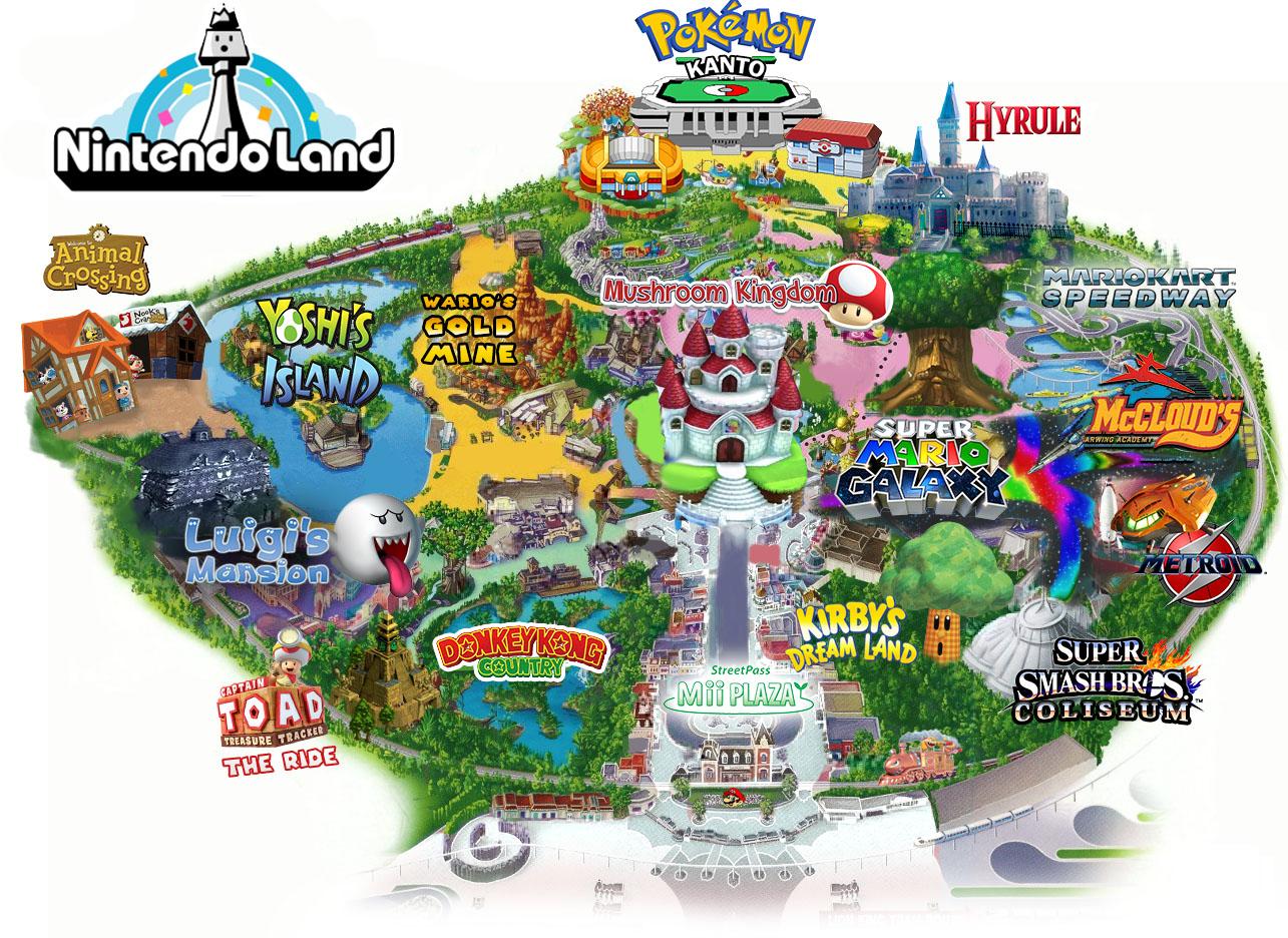 Universal studios-Nintendo Land Orlando -GamersRD