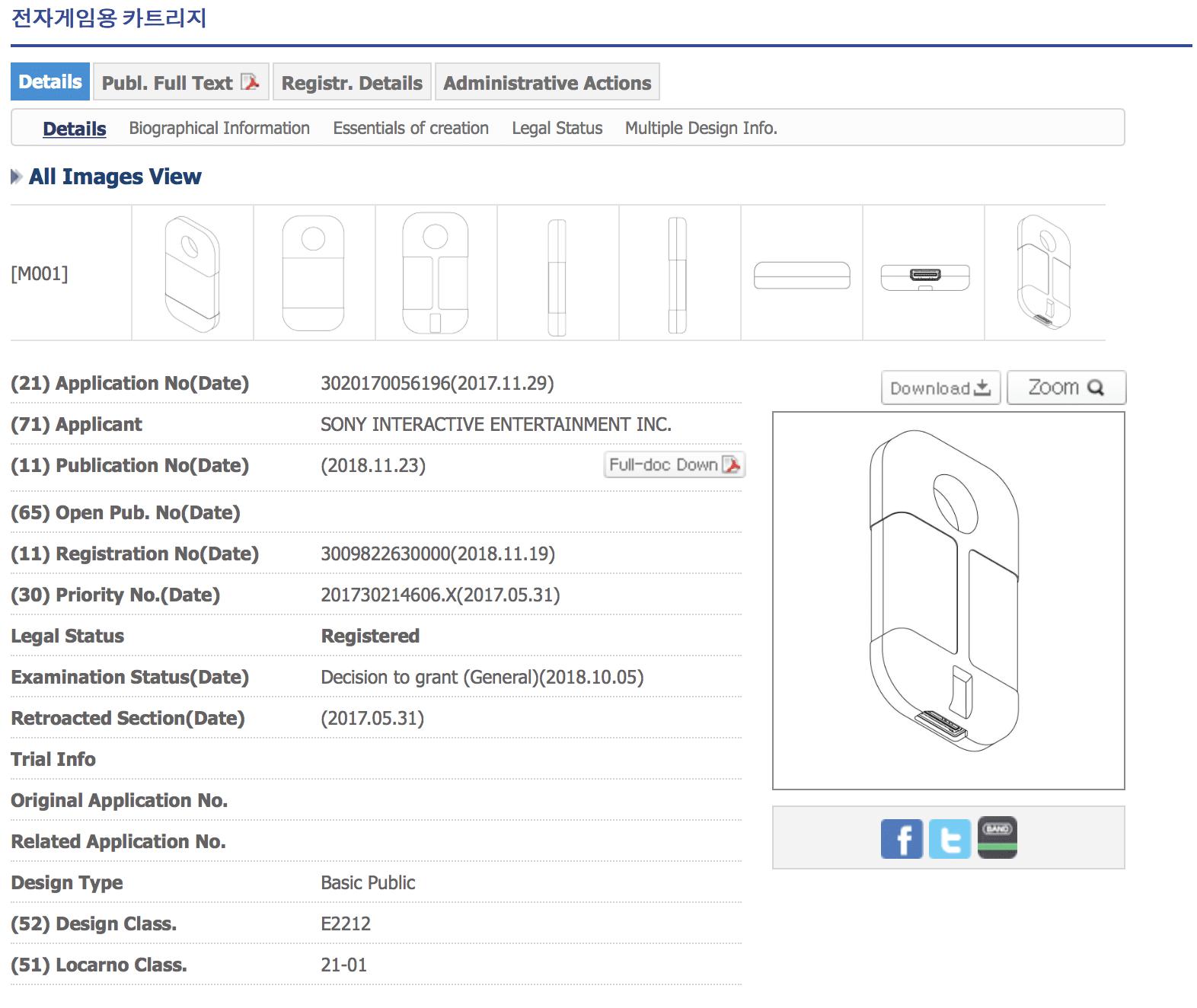 Sony ha presentado una patente para un nuevo juego en cartucho